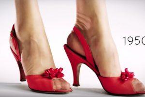 Η εξέλιξη των γυναικείων παπουτσιών τα τελευταία 100 χρόνια! (VIDEO)