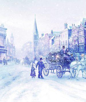 5 υπέροχα μέρη για Χριστούγεννα μέσα από...λογοτεχνία!
