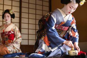 Η ιερή τελετουργία του τσαγιού στην Ιαπωνία.