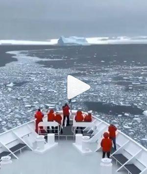 Στο πλοίο για τη μαγευτική Ανταρκτική! (VIDEO)